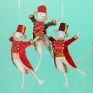 Trio of Military Mice