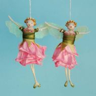 Pink Rose Bud Fairies