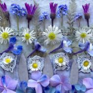 Daisy and Delphinium