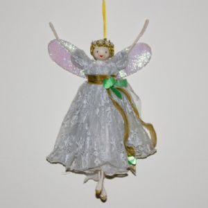 Large Christmas Tree Top Fairy