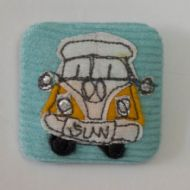 Square Campervan Badges